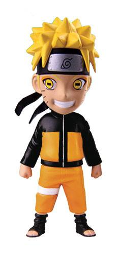 Naruto Shippuden Mininja Mini Figure Naruto Sage Mode Series 2 Exclusive 8 cm