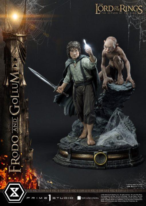 Lord of the Rings Statue 1/4 Frodo & Gollum Bonus Version 46 cm
