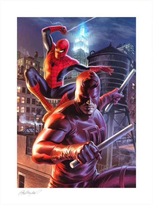 Marvel Art Print Daredevil & Spider-Man 46 x 61 cm – unframed