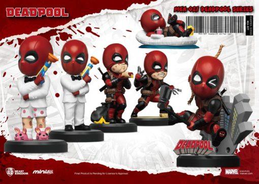 Marvel Mini Egg Attack Figure 8 cm Assortment Deadpool (6)
