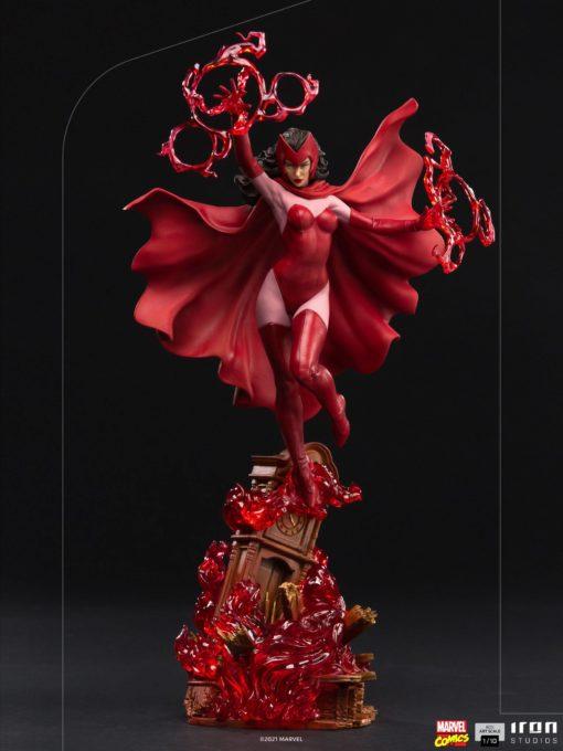 Marvel Comics BDS Art Scale Statue 1/10 Scarlet Witch 35 cm