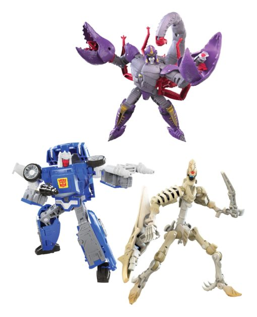 Transformers Generations War for Cybertron: Kingdom Action Figures Deluxe 2021 W3 Assortment (8)