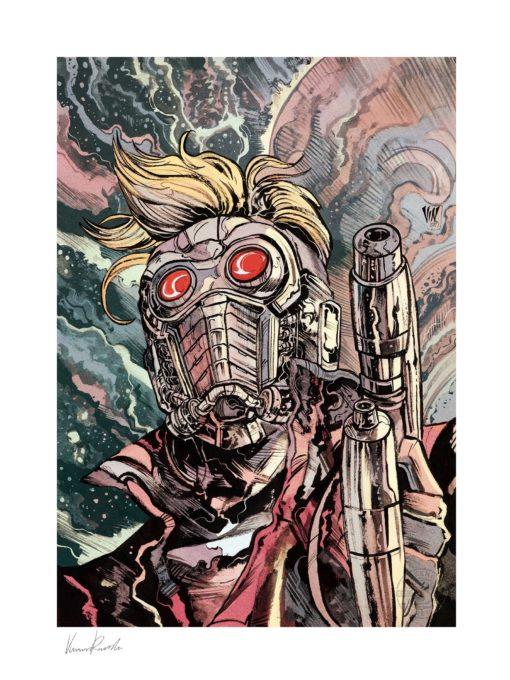 Marvel Art Print Star-Lord 46 x 61 cm – unframed
