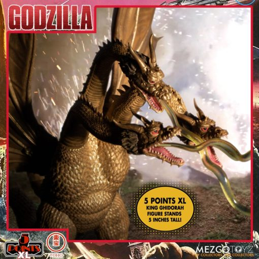 Godzilla: Destroy All Monsters 5 Points XL Action Figures Deluxe Box Set Round 2 11 cm