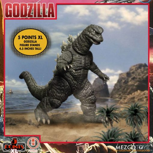 Godzilla: Destroy All Monsters 5 Points XL Action Figures Deluxe Box Set Round 1 11 cm