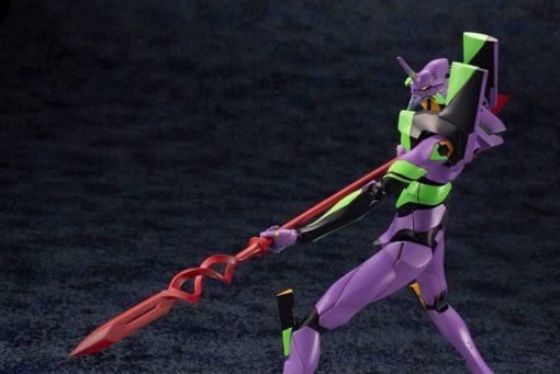 Evangelion 4.0 Plastic Model Kit 1/400 Evangelion Test Type-01 with Spear of Cassius 19 cm