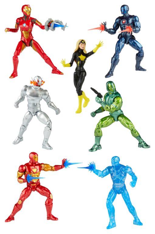 Iron Man Marvel Legends Series Action Figures 15 cm 2021 Wave 1 Assortment (8)