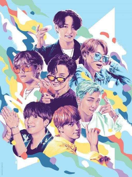BTS Fine Art Print Dynamite 46 x 61 cm – unframed