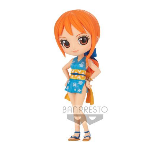 One Piece Q Posket Mini Figure Onami Ver. A 14 cm