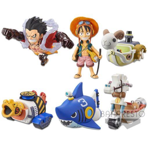 One Piece WCF ChiBi PVC Statues 7 cm Assortment Treasure Rally Vol. 1 (12)