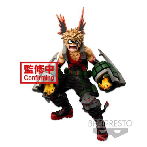 My Hero Academia Colosseum Modeling Academy Super Master Stars Piece Statue Katsuki Bakugo 24 cm
