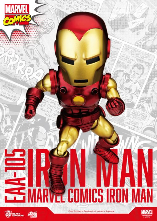 Marvel Egg Attack Action Figure Iron Man Classic Version 16 cm