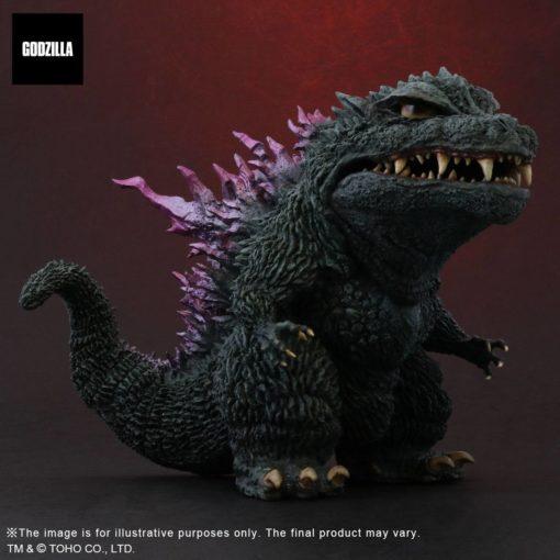 Godzilla vs. Megaguirus Defo-Real Series PVC Statue Godzilla (2000) 14 cm