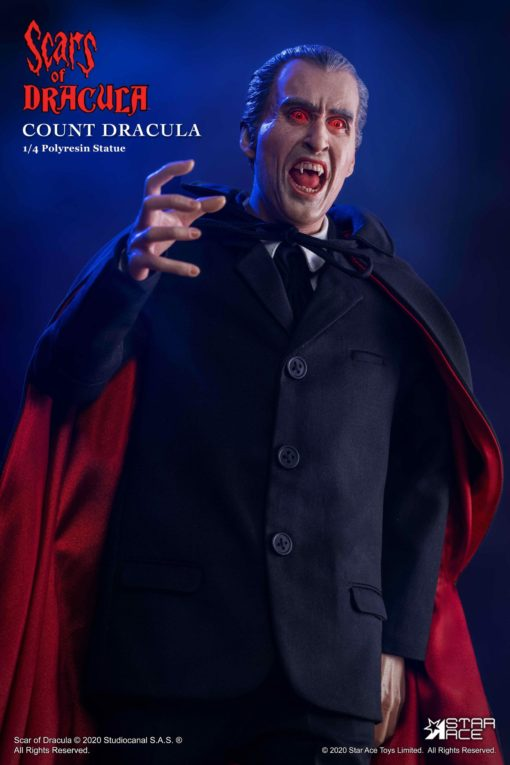Scars of Dracula Statue 1/4 Count Dracula 2.0 DX Version 53 cm