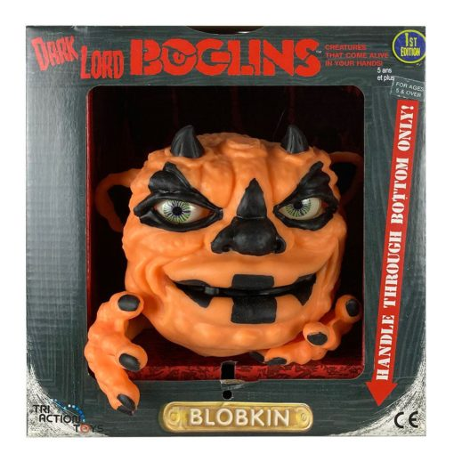 Boglins Hand Puppet Dark Lord Blobkin  (Glow In The Dark)