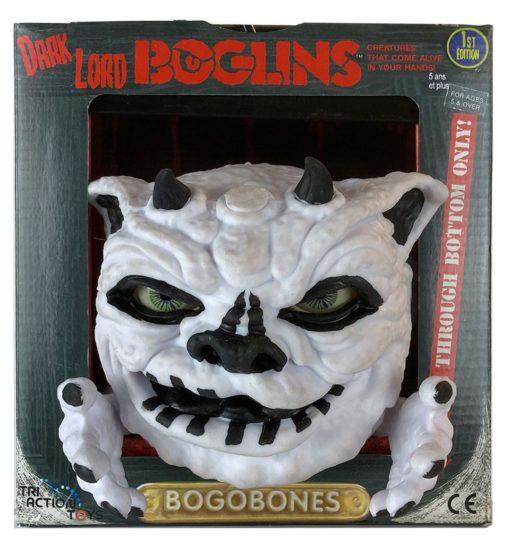 Boglins Hand Puppet Dark Lord Bog O Bones  (Glow In The Dark)