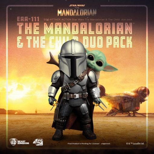 Star Wars The Mandalorian Egg Attack Action Action Figures The Mandalorian & The Child 7 – 17 cm