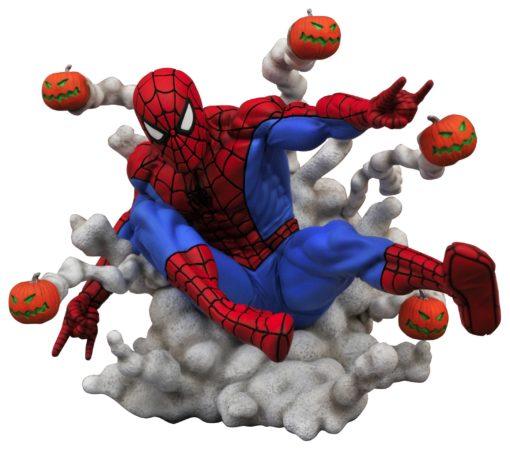 Marvel Comic Gallery PVC Statue Spider-Man Pumpkin Bombs 15 cm