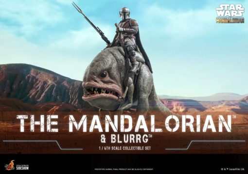 Star Wars The Mandalorian Action Figure 2-Pack 1/6 The Mandalorian & Blurrg 37 cm