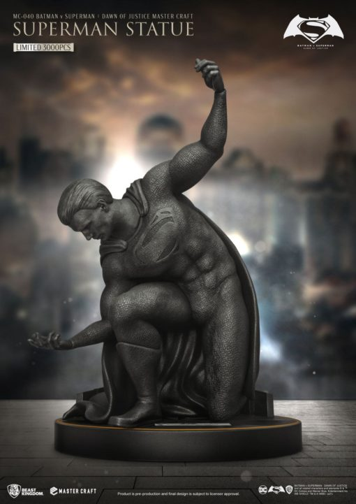 Batman v Superman Dawn Of Justice Master Craft Statue Superman 40 cm