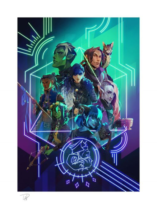 Critical Role Art Print The Mighty Nein: Nat 20! 46 x 61 cm – unframed