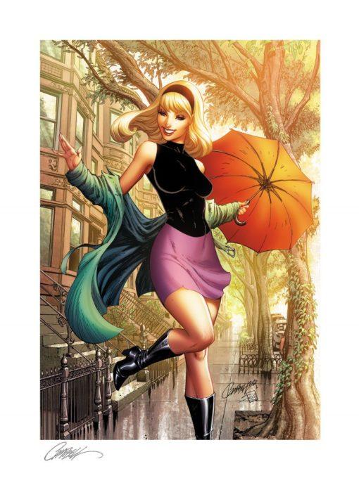 Marvel Comics Art Print Gwen Stacy #1 – Summer 46 x 61 cm – unframed