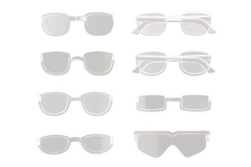 Sousai Shojo Teien Model Kit Accesoory Set 1/10 After School Glasses Set