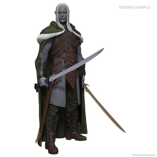 Dungeons & Dragons Life-Size Statue Drizzt Do'Urden (Foam Rubber/Latex) 170 cm
