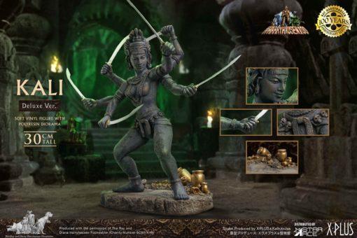 The Golden Voyage of Sinbad Soft Vinyl Statue Ray Harryhausens Kali Deluxe Version 32 cm