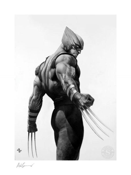 X-Men Art Print Wolverine Black & White Variant 46 x 61 cm – unframed