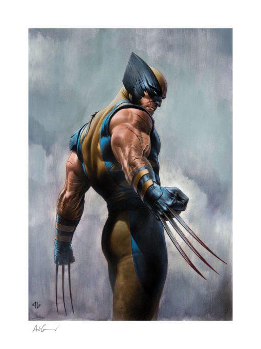 X-Men Art Print Wolverine 46 x 61 cm – unframed