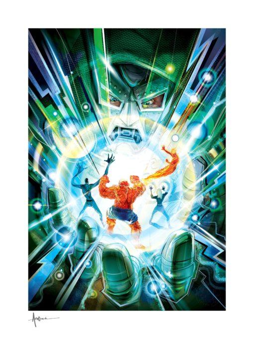 Fantastic Four Art Print Hand of Doom 46 x 61 cm – unframed
