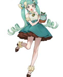 Hatsune Miku SweetSweets Series PVC Statue Hatsune Miku Chocolate Mint 17 cm