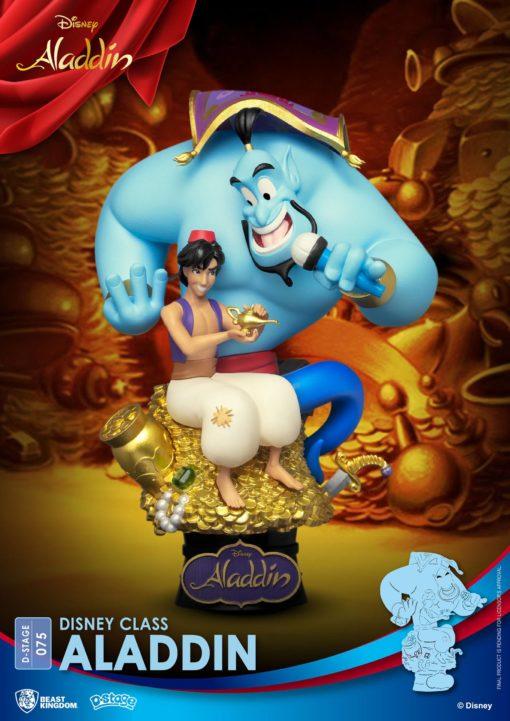 Disney Class Series D-Stage PVC Diorama Aladdin New Version 15 cm