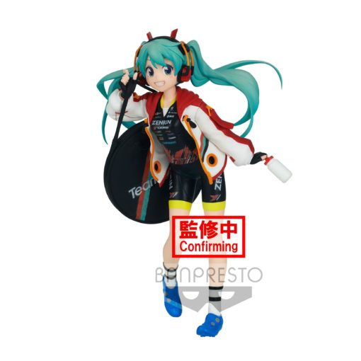 Racing Miku Espresto est-Prints & Texture PVC Statue Hatsune Miku 2020 TeamUkyo 17 cm