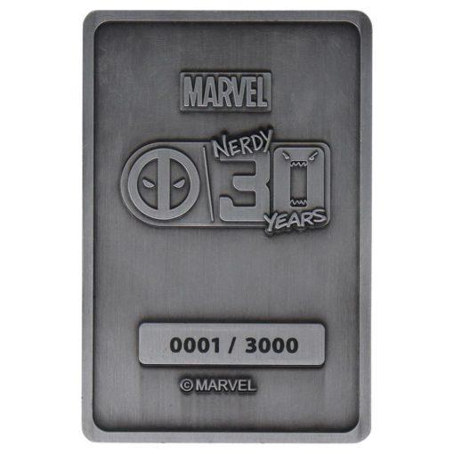 Marvel Ingot Deadpool Anniversary Limited Edition