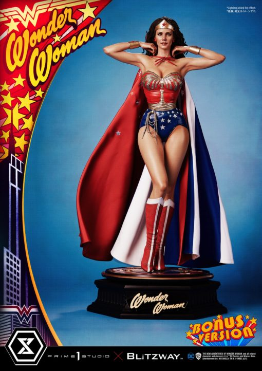 Wonder Woman 1975 Statue 1/3 Wonder Woman (Lynda Carter) Bonus Version 69 cm