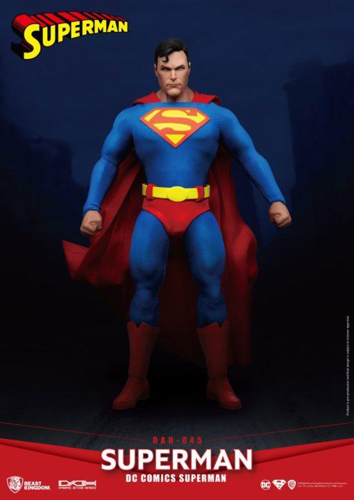 DC Comics Dynamic 8ction Heroes Action Figure 1/9 Superman 20 cm
