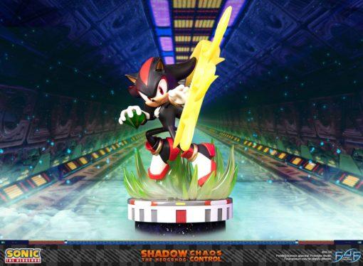 Sonic the Hedgehog Statue Shadow the Hedgehog Chaos Control 50 cm