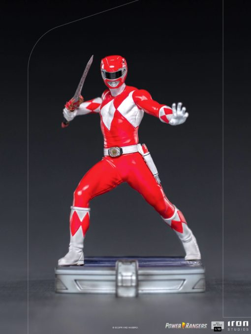 Power Rangers BDS Art Scale Statue 1/10 Red Ranger 17 cm