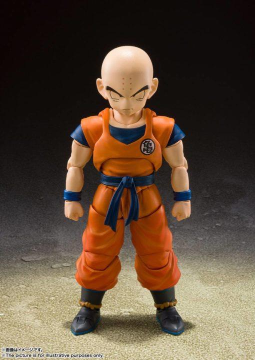 Dragon Ball Z S.H. Figuarts Action Figure Krillin Earth's Strongest Man 12 cm