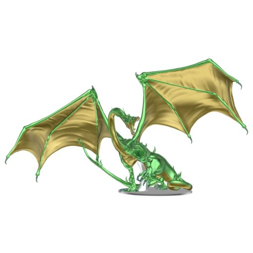 D&D Icons of the Realm Premium Statue Adult Emerald Dragon 36 cm