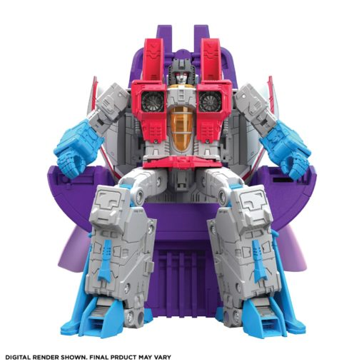 Transformers Movie 1986 Studio Series Leader Class Action Figure 2022 Coronation Starscream 22 cm