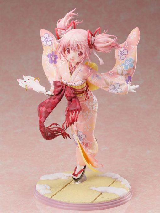 Puella Magi Madoka Magica Side Story Magia Record PVC Statue 1/7 Madoka Kaname Kimono Ver. 22 cm