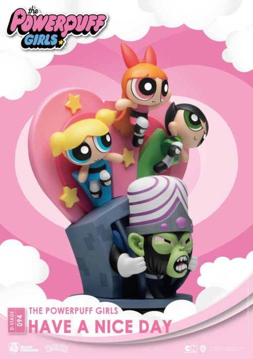 The Powerpuff Girls D-Stage PVC Diorama Have A Nice Day New Version 15 cm