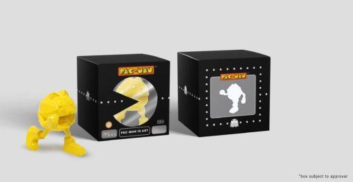 Pac-Man Statue Pac-Man Is Art by Richard Orlinski Yellow Edition 10 cm