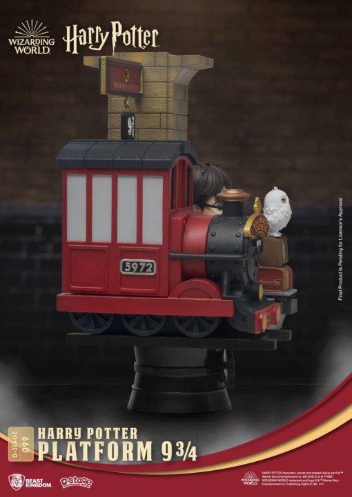 Harry Potter D-Stage PVC Diorama Platform 9 3/4 New Version 15 cm