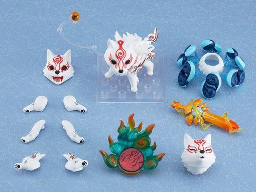 Okami Nendoroid Action Figure Shiranui DX Version 10 cm