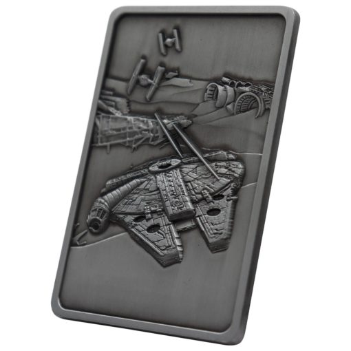 Star Wars Iconic Scene Collection Limited Edition Ingot The Millenium Falcon