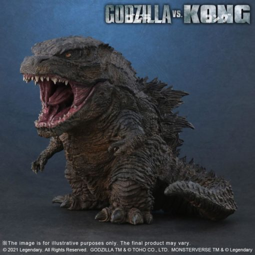 Kong vs Godzilla (2021) Defo-Real Series PVC Statue Godzilla (2000) 13 cm